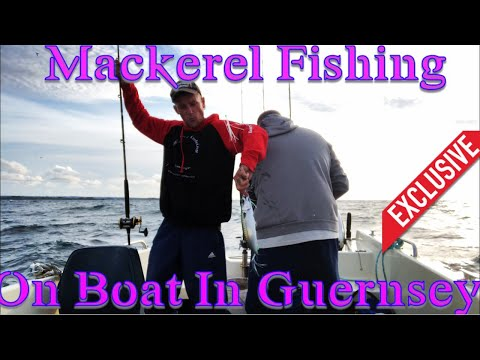 Mackerel Fishing With Feathers On My Boat!!!