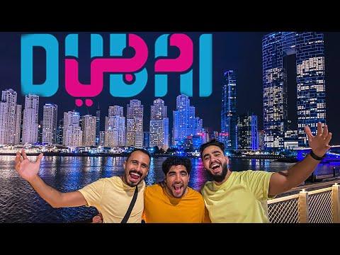 أول سفرية ل جريمة اكل و تجربة اشهر برجر في دبي | Five Guys