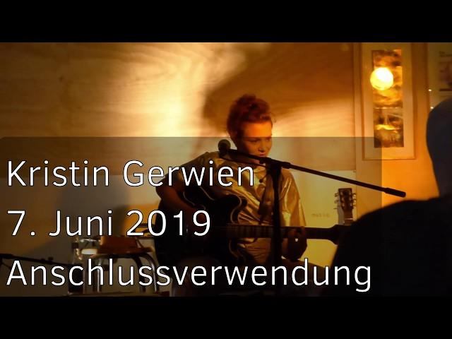 20190607 - Anschlussverwendung - Kristin Gerwien