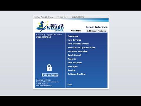 Furniture Wizard Software Version 15 Complete Demo