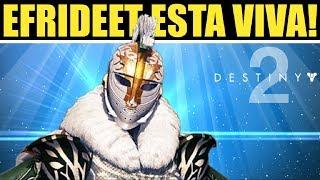 Destiny 2 - Efrideet Esta Viva y Lucho la Guerra Roja | Lore e Historia