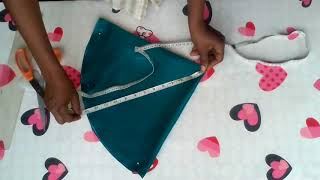 How to cut full circle sleeve easily.