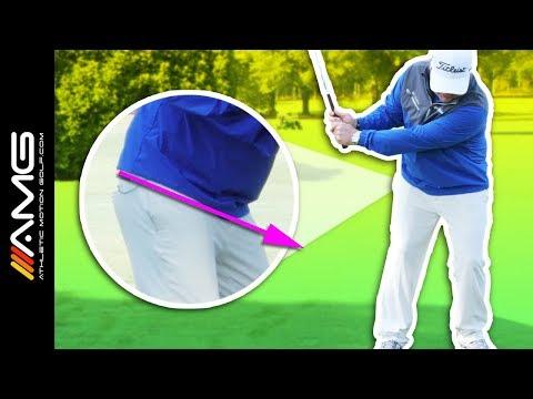 Proper Hip Tilt for Pure Golf Shots