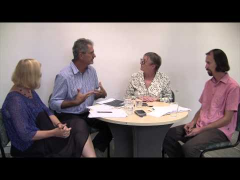 A round table with Professor Liz Kelly, Dr Annabel Taylor, Mark Walters and Paul Monsour