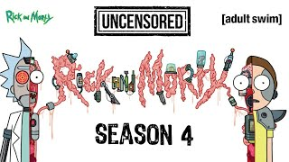 Rick And Morty All Uncensored Parts on Season 4