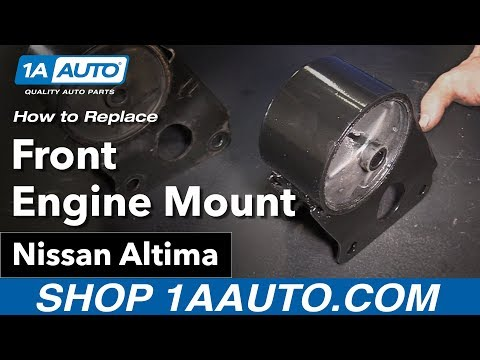 How to Replace Install Front Engine Mount 02-06 Nissan Altima