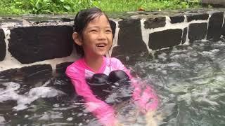 [서현이의 일상생활] 서현이와 함께하는 수영장 놀이