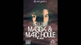 Magda & Marc Houle - DjSet in CASANOSTRA (part 1).avi