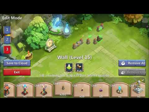 Castle Clash - TH 23 GW Base