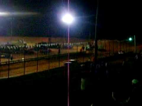 Central Alabama Motor Speedway 7-3-2010 #5 Terry Merritt Feature win