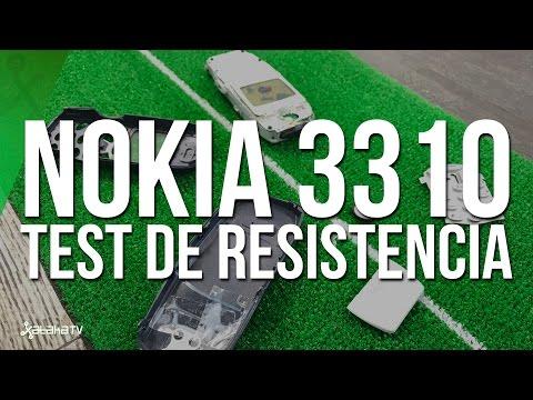 el nokia 3310 fue sometido a cinco pruebas de resistencia