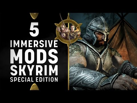 Skyrim Special Edition - 5 Best Immersive Mods for XBOX One!
