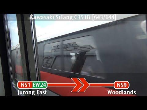 SMRT C151B [643/644]: Jurong East → Woodlands