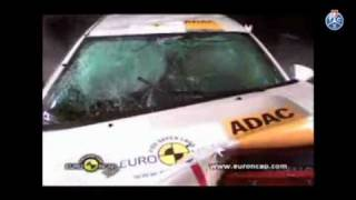 Euro NCAP crash test Opel Ampera