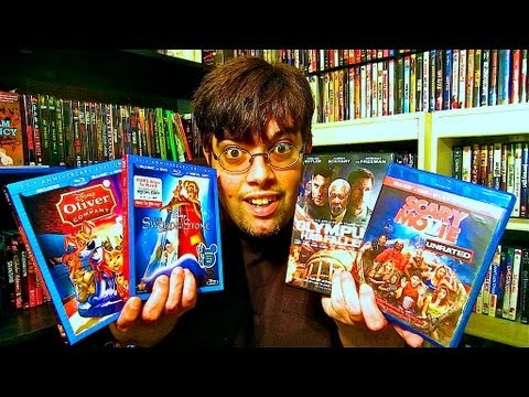 My Blu-Ray Collection Update 8/3/13 Blu ray and Dvd Movie Reviews