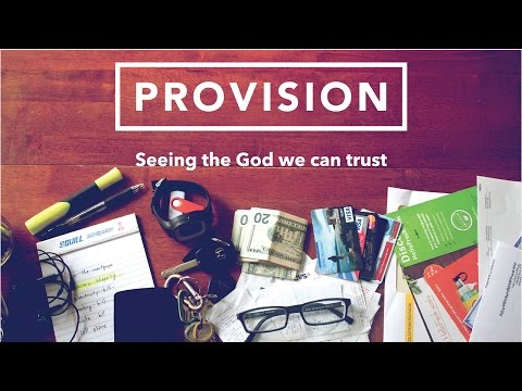 Provision #2 - How to Stop Worrying About Money