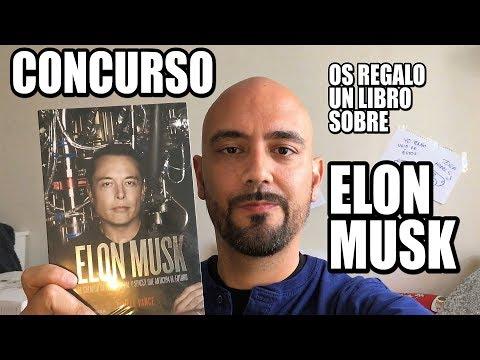 CONCURSO: ¿quieres ganar un libro sobre Elon Musk?