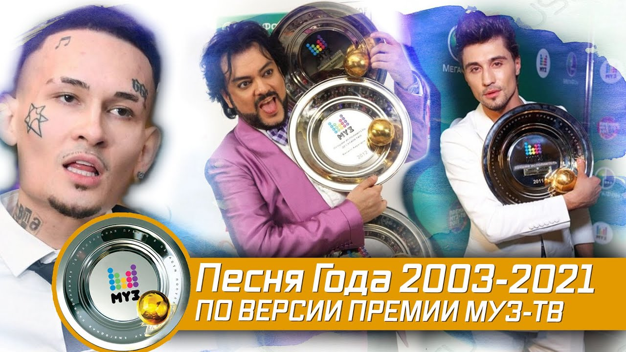 ПРЕМИЯ МУЗ-ТВ 2003-2021: ПЕСНЯ ГОДА