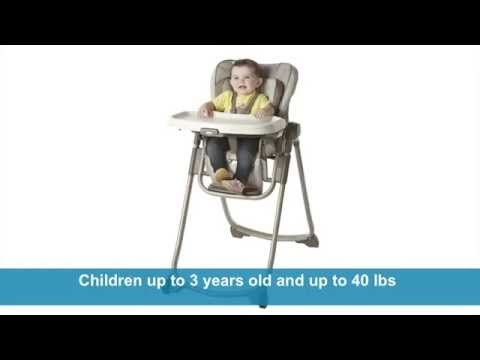 Graco Slim Spaces Highchair