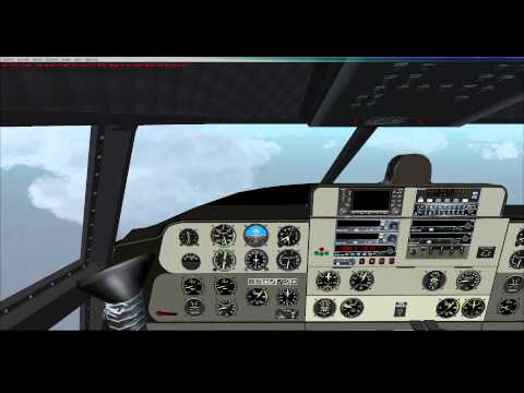 FSX - Buffalo Airways French Polynesia Tour - C-46 Commando - Leg 18