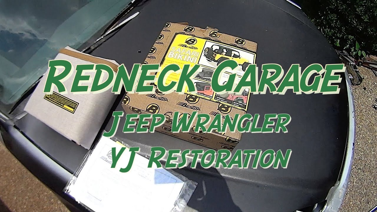 83e11605d0c Bestop Bikini and Trail Cover Wrangler YJ - YouTube