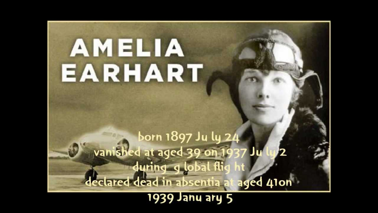 Amelia earhart mystery may be solved, researchers say