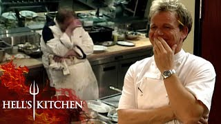 Struggling Chef Almost Faints During Service | Hell's Kitchen