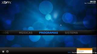 Repeat youtube video Canais de tv com XBMC media center