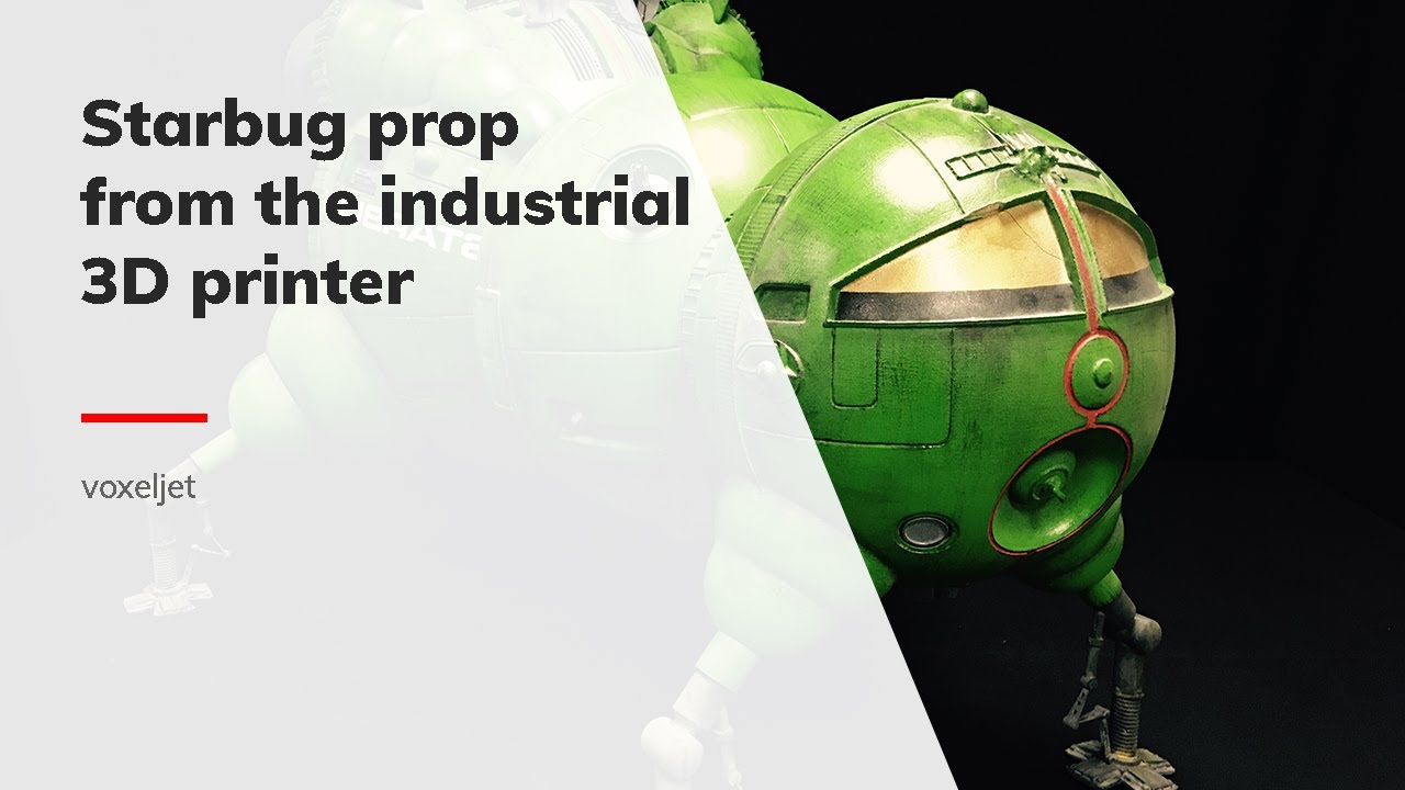 voxeljet: the 3D printed Starbug prop - Red Dwarf