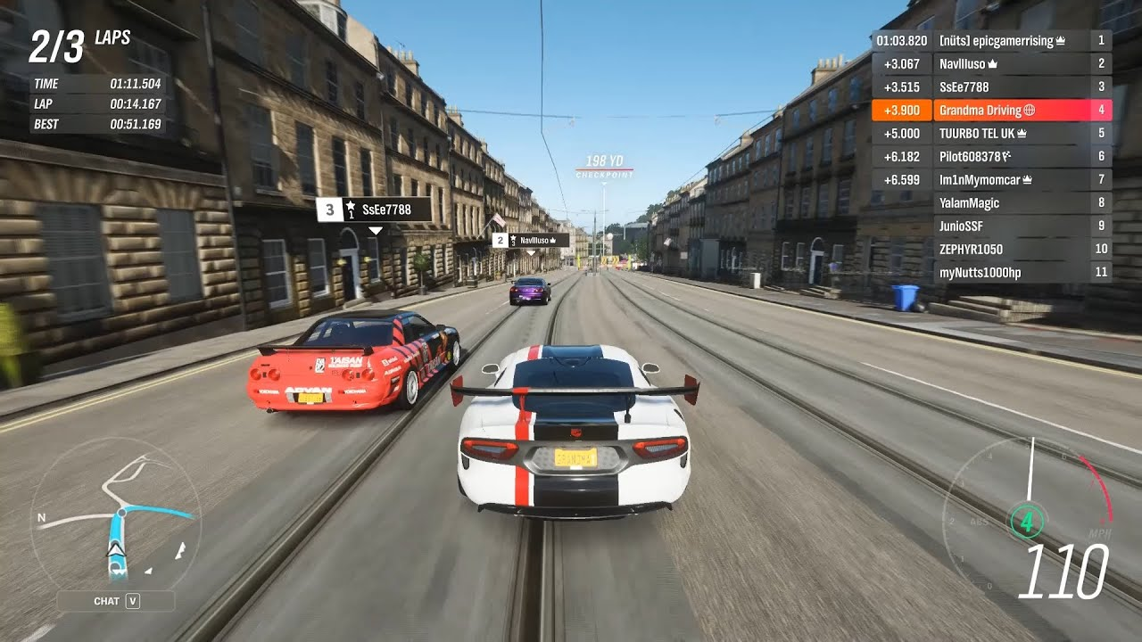 Forza Horizon 4 - 2016 Viper ACR is Slower Than The 2008 Viper ACR in S1-Class