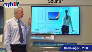 Samsung NU7100, UE49NU7100, UE55NU7100, UE65NU7100, UE75NU7100