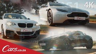 Hillclimb Race 3 - BMW M240i vs Jaguar F-Type 400 Sport vs Aston Martin Vantage N430