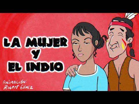 LA MUJER Y EL INDIO