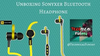 Sonyxer Waterproof Bluetooth Headphones Unboxing Overview Technical Funday Gadgets Hub