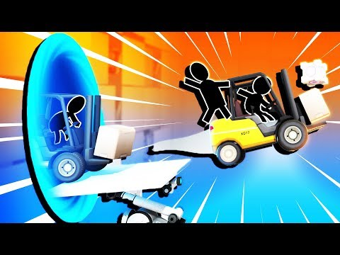 Portal LAUNCHES and EPIC BRIDGE Construction! - Bridge Constructor Portal Gameplay