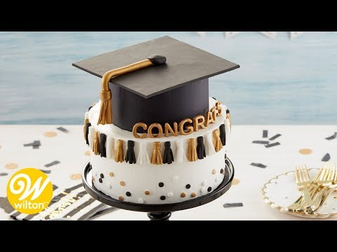 How to Make a Graduation Tassel Cake | Wilton