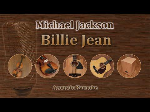 Billie Jean - Michael Jackson (Acoustic Karaoke)