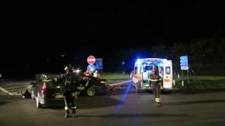Incidente stradale a Benevento: due feriti, le concitate fasi dei soccorsi