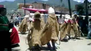 danza de los capoteros quechultenango 16/06/2013
