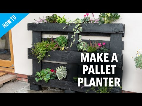 how-to-make-a-pallet-planter