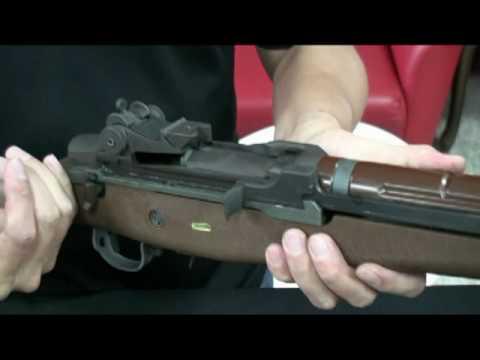 RA TECH customs WE open bolt M14 - YouTube