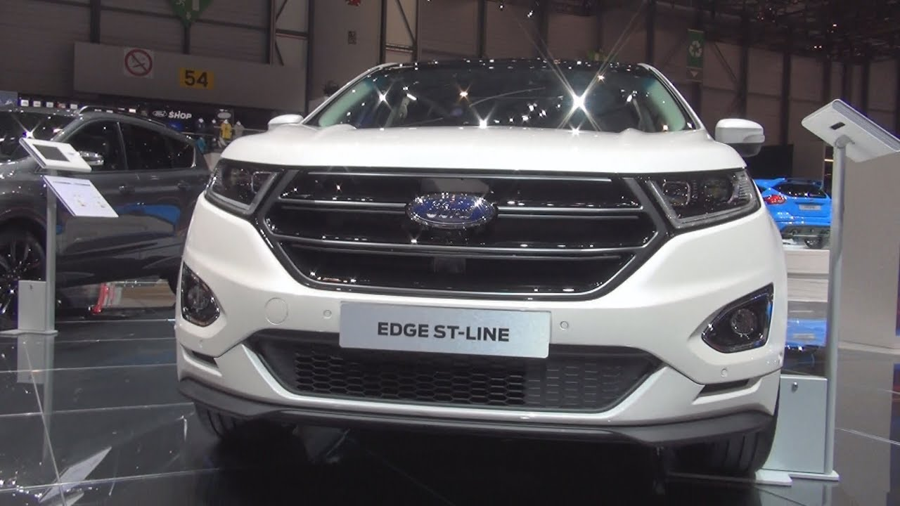 ford edge st line 2 0 tdci 210 hp 2017 exterior and interior youtube. Black Bedroom Furniture Sets. Home Design Ideas