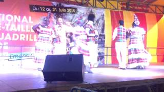 We Deh Yah Cultural Dancers - Gentleman Contrary (Martinique -  June 2015)