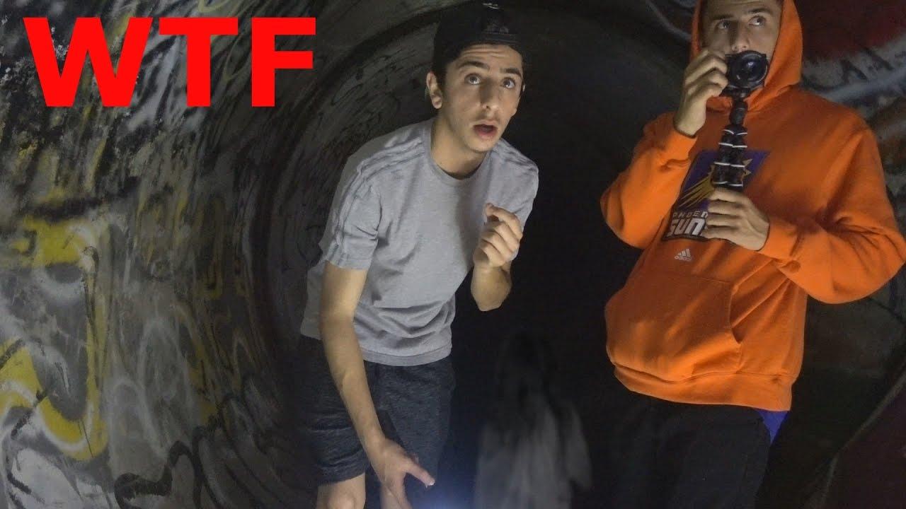 Little Girl Screams In The Haunted Tunnel Wtf Faze