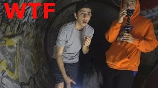 LITTLE GIRL SCREAMS IN THE HAUNTED TUNNEL... (WTF) | The Tunnel | FaZe Rug