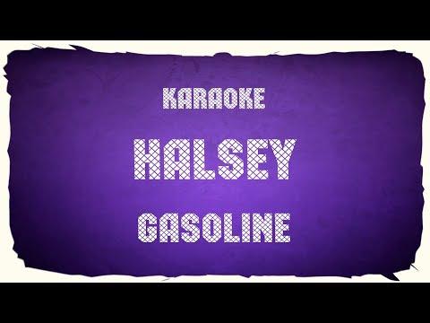 "Halsey ""Gasoline"" (karaoke+chords)"