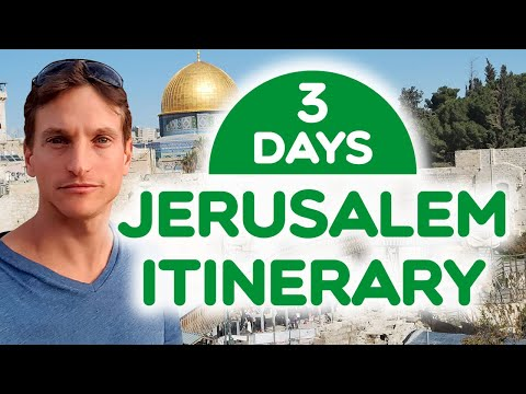72 hours in  Jerusalem (By a professional tour guide)