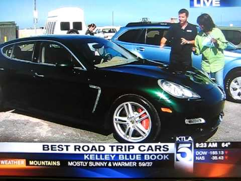 KTLA Morning News Gets a Parking Ticket on Live TV. (Shes not a cop & KTLA didn't pay)