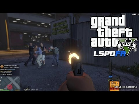 GTA 5 - LSPDFR - EPiSODE 29 - LET'S BE COPS - CITY PATROL - FIRST PERSON VIEW (GTA 5 PC POLICE MODS)