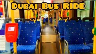 Dubai Bus Ride | Roads and Transport Authority #Dubaibus #RTA